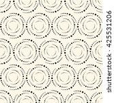 seamless reto pattern can be... | Shutterstock .eps vector #425531206