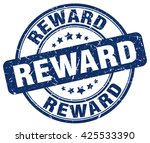 reward. stamp | Shutterstock .eps vector #425533390