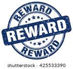 reward. stamp | Shutterstock .eps vector #425533390