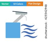 diving stand icon. vector...
