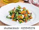 Warm Salad With Roasted Pumpkin ...