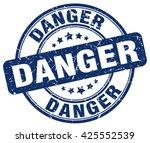 danger. stamp | Shutterstock .eps vector #425552539