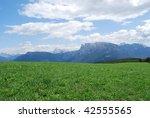 alpine landscape | Shutterstock . vector #42555565