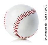 Baseball Ball Close Up On A...