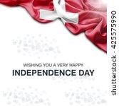 switzerland abstract flag.... | Shutterstock . vector #425575990