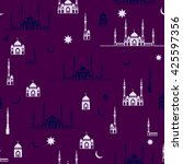 ramadan kareem vector design... | Shutterstock .eps vector #425597356