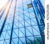 detail of modern building | Shutterstock . vector #425620186