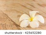 Pretty White Frangipani Flower...