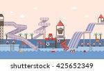 flat vector illustration for...   Shutterstock .eps vector #425652349