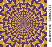 optical illusion background.... | Shutterstock .eps vector #425660356