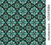 floral background    Shutterstock .eps vector #425695084