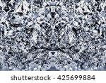 foil background pattern ice... | Shutterstock . vector #425699884