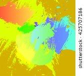 vector strokes  watercolor | Shutterstock .eps vector #425707186