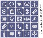 useful vector icons   Shutterstock .eps vector #425719678