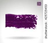 brush stroke and texture....   Shutterstock .eps vector #425725453
