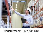 wholesale  logistic  business ... | Shutterstock . vector #425734180