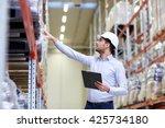 wholesale  logistic  business ... | Shutterstock . vector #425734180
