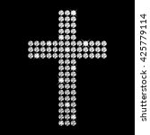 vector illustration of cross | Shutterstock .eps vector #425779114