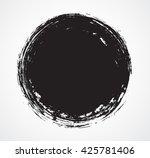 vector grunge circle.grunge... | Shutterstock .eps vector #425781406