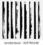 vector grunge edges.grunge... | Shutterstock .eps vector #425784148