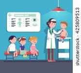 Pediatrician Doctor Woman Doin...