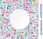 template design businessman... | Shutterstock .eps vector #425815906