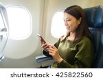 woman use of mobile phone... | Shutterstock . vector #425822560