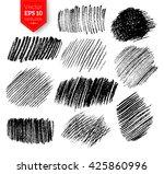 vector collection of pencil... | Shutterstock .eps vector #425860996