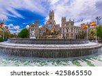 cybele's square  plaza de la... | Shutterstock . vector #425865550