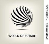 logo design. | Shutterstock .eps vector #425869228