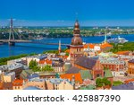 view from tower of saint peters ... | Shutterstock . vector #425887390
