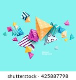 abstract colorful background... | Shutterstock .eps vector #425887798