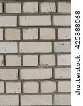 white brick wall texture with...   Shutterstock . vector #425888068