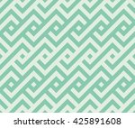 seamless turquoise african... | Shutterstock .eps vector #425891608