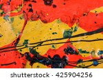 original acrylic  painting... | Shutterstock . vector #425904256