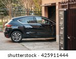 detail of a car entering... | Shutterstock . vector #425911444