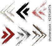 cute vector geometric seamless... | Shutterstock .eps vector #425916976