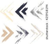 cute vector geometric seamless...   Shutterstock .eps vector #425918194