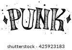 punk label design for t shirts ...   Shutterstock .eps vector #425923183