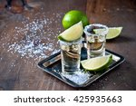tequila gold  mexican  alcohol... | Shutterstock . vector #425935663