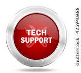 technical support icon  red... | Shutterstock . vector #425940688