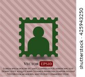 picture icon vector symbol flat ...   Shutterstock .eps vector #425943250
