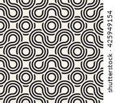 vector seamless pattern.... | Shutterstock .eps vector #425949154