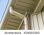 Gutter And Downspout Near The...