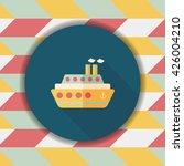 transportation ferry flat icon... | Shutterstock .eps vector #426004210