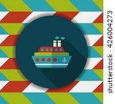transportation ferry flat icon... | Shutterstock .eps vector #426004273