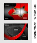 business tri fold brochure ... | Shutterstock .eps vector #426005638
