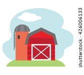 farm vector illustration  | Shutterstock .eps vector #426006133