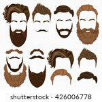 man hair  mustache  beards