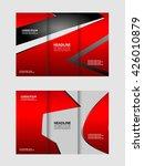 trifold business brochure print ...   Shutterstock .eps vector #426010879